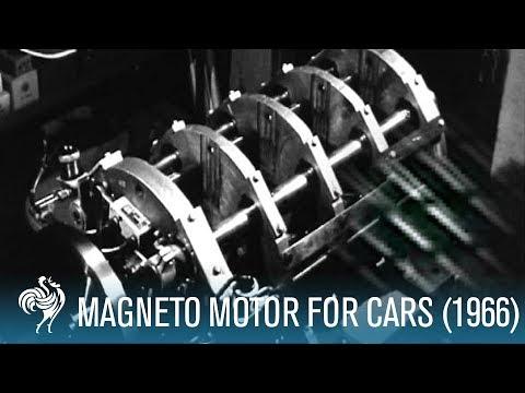Magneto Motor For Cars 1966 Youtube