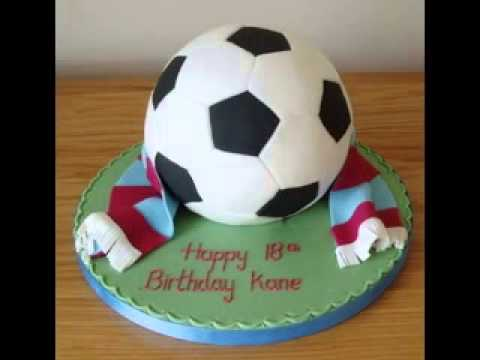 Birthday Cake Designs Football