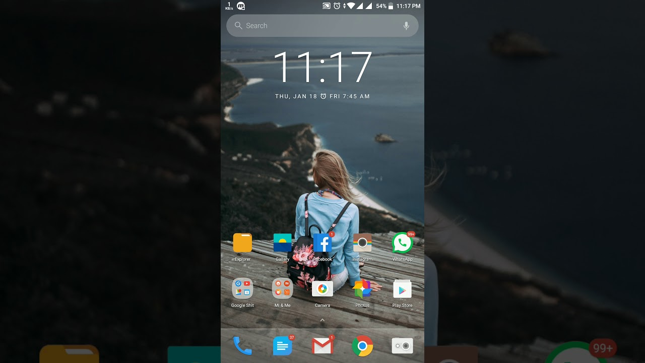 Xiaomi Mi A1 - AZ Screen Recorder