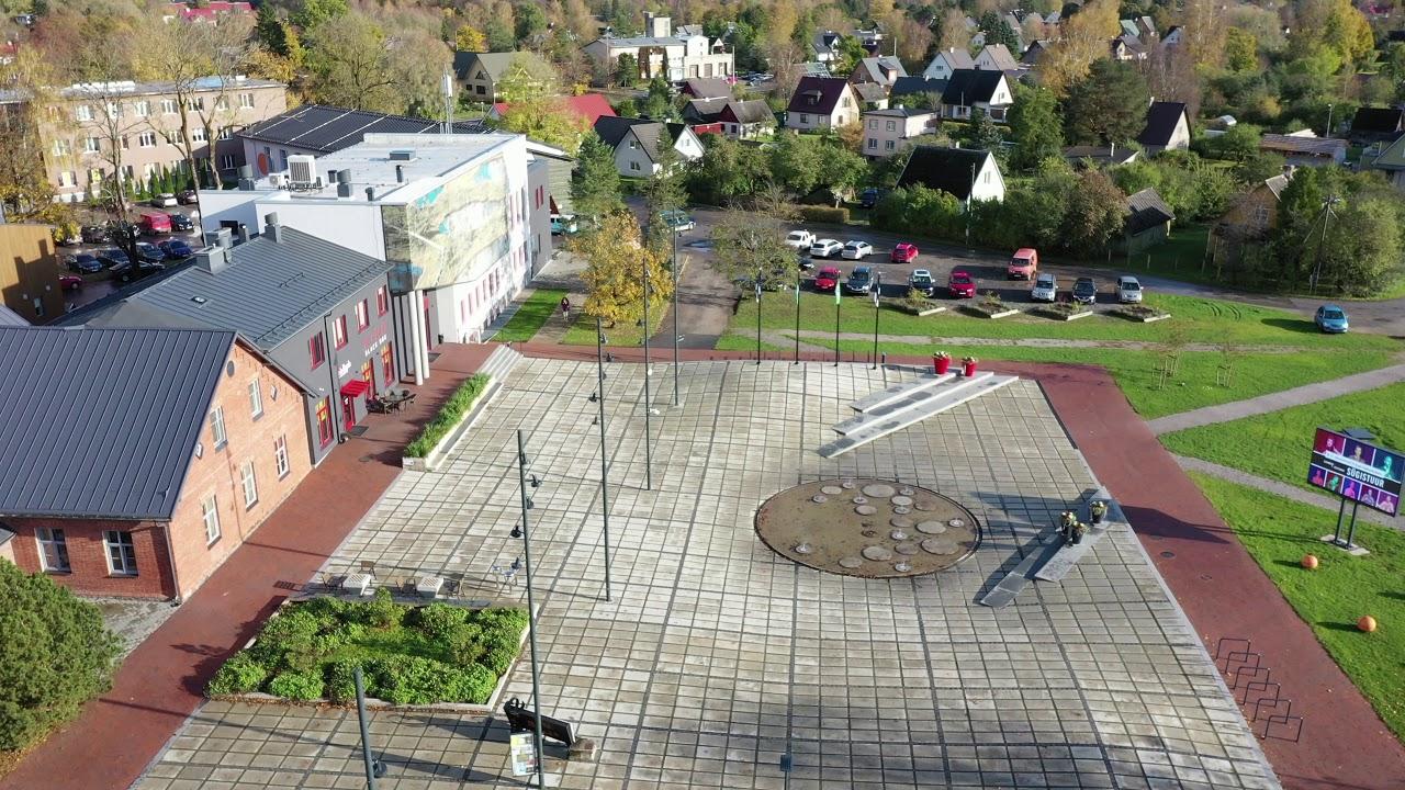 Square! Positively shrinking / Rapla, Estonia