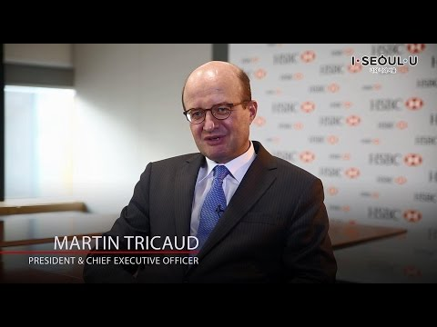 [Invest Seoul CEO Interview] Martin Tricaud, HSBC