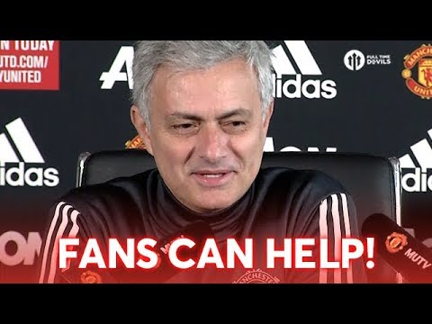 Jose Mourinho: FANS CAN HELP! Man United vs Liverpool Press Conference