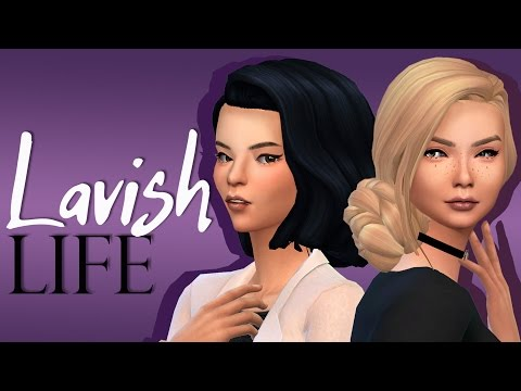 Let's Play The Sims 4 - Lavish Life | Part 6 - Moving In!