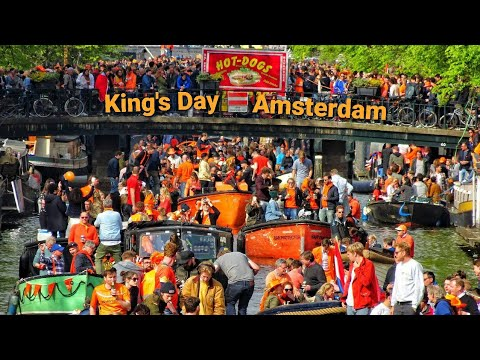 Download King's Day Amsterdam Aftermovie - Koningsdag