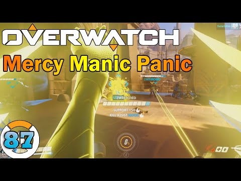 Overwatch w/Friends: Mercy Manic Panic [Live Commentary] #87
