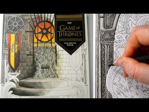 Coloring Tutorial | Game Of Thrones Arya Stark Part 1 With Polychromos Colored Pencils