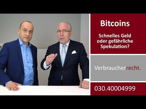 Bitcoin (BTC) - Das schnelle Geld oder gefährliche Spekulation? | Interview mit Jochen Resch