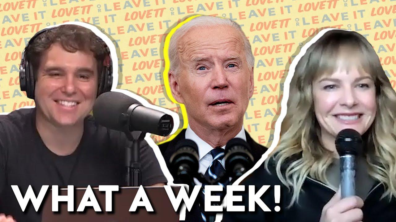 Download Lovett and Rosebud Baker React to Biden's Vaccine Mandates | Lovett or Leave It