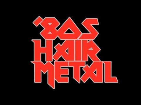 Ultimate Hair Metal Playlist  Best of GlamHair Metal80s Rock