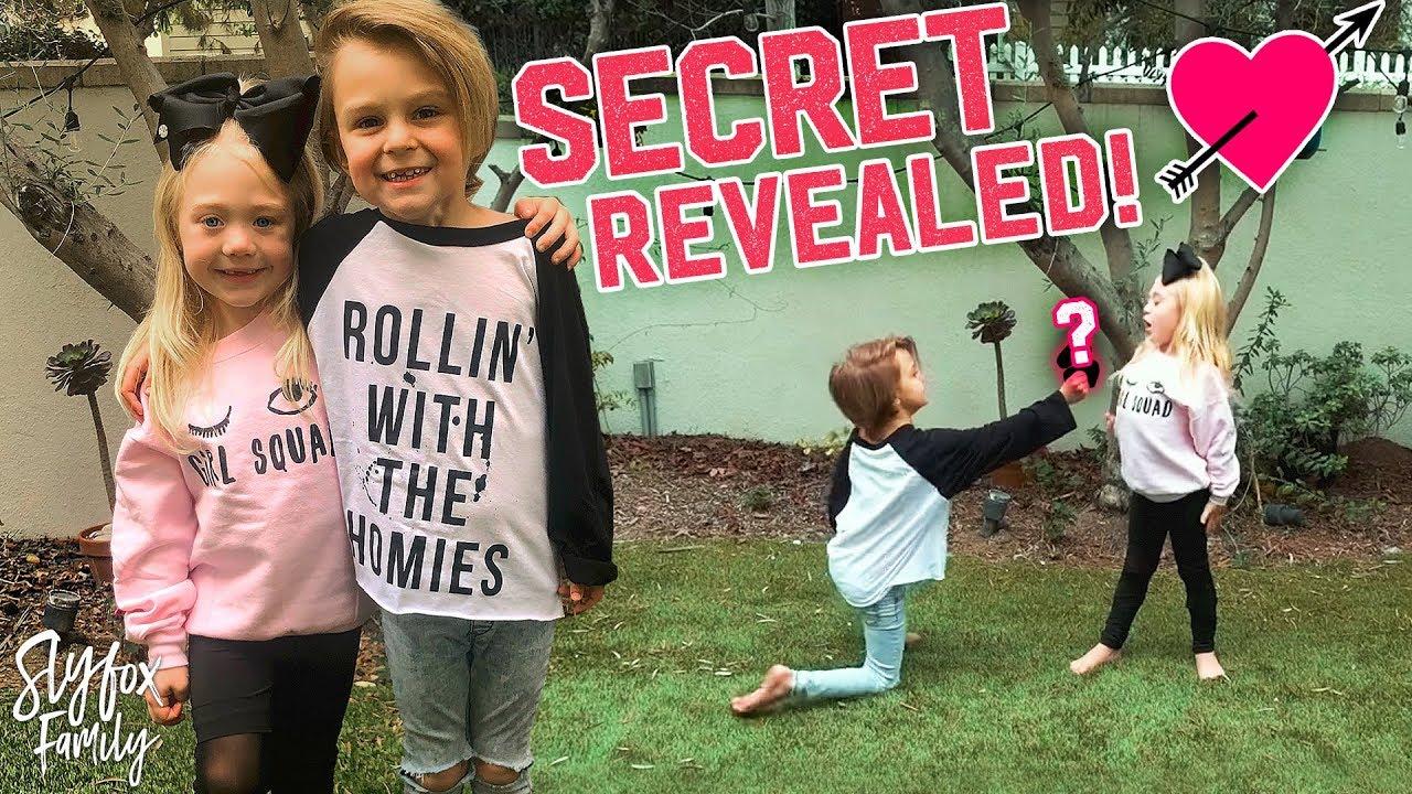 mini cole sav dance battle secret revealed slyfox family youtube