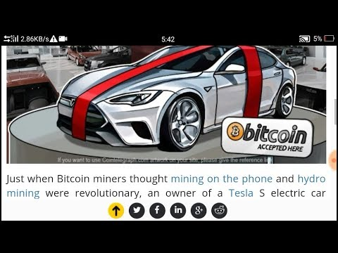 Bitcoin breaking News   Tesla's Owner Uses Their Car to Mine Bitcoin   #UBP Smart Gurukul  Hindi 