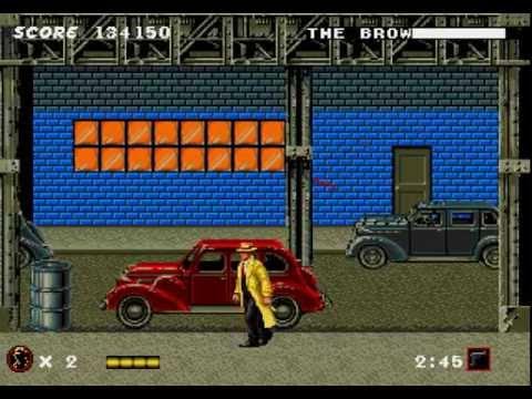 Dick Tracy Longplay (Mega Drive/Genesis) [60 FPS]