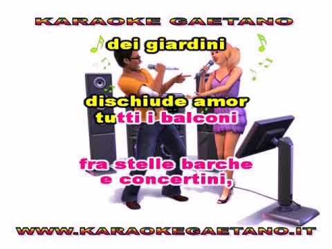 Melodie di  Napoli Acquarello Napoletano karaoke