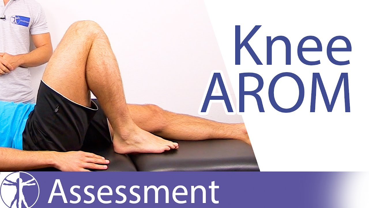 Active Range Of Motion Knee Joint Youtube