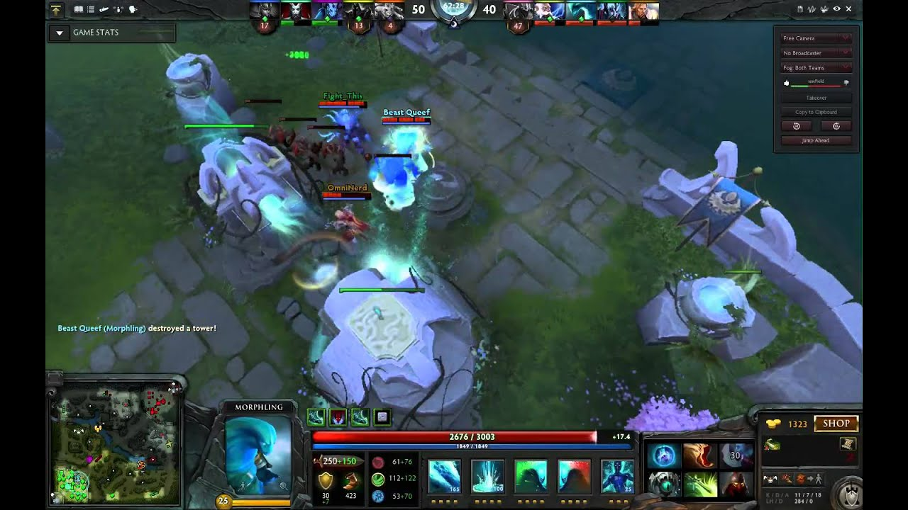 dota 2 morphling takes over late game strongest late game ever