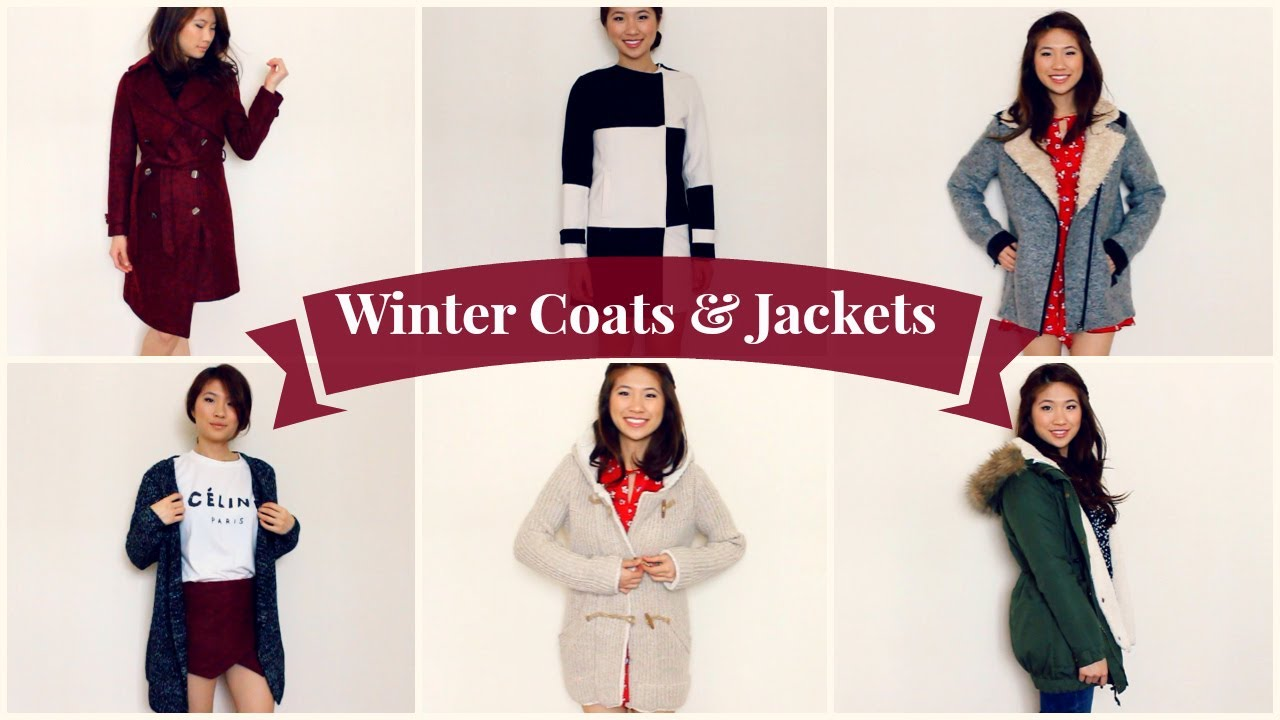 Winter Clothing Haul: Coats/Jackets (Giveaway Winners) - YouTube