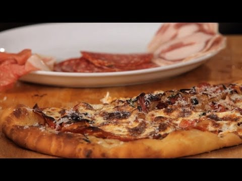 How to Make Meat Pizza Toppings   Homemade Pizza