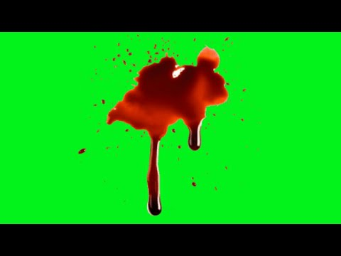 green screen Top 12 blood effects animations HD | chroma key Bloods | by Crazy Editor