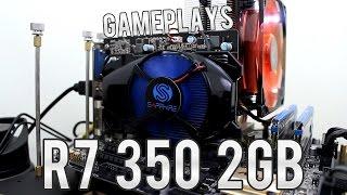 🎮 Teste Sapphire R7 350 2GB   Dota 2, CS:GO, ETS2, Ark, GTA 5, Tomb Raider e BF4   I3 6100