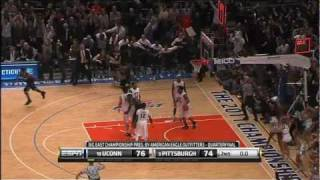 Kemba Walker Step Back Game Winner in MSG 2010 NCAA Tournment