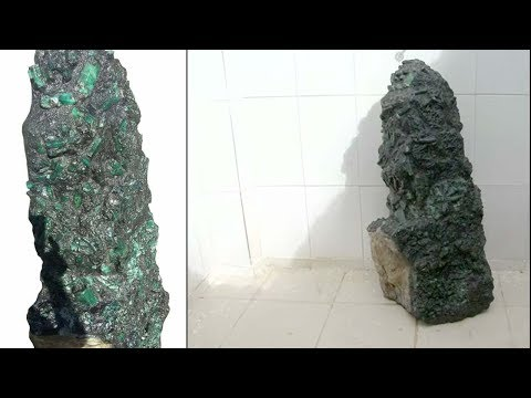 Giant emerald weighing 360 kgs found in Brazil