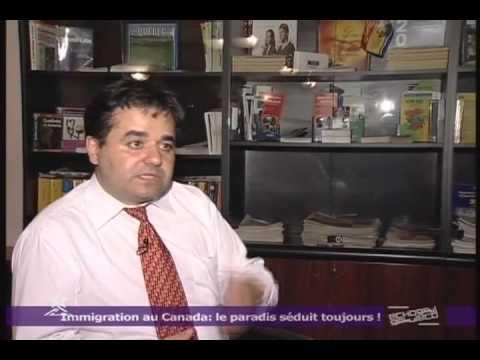 Accès Canada reportage de la télé marocaine sur l'immigration
