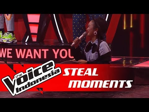 Momen Steal Paling Sed.. Eh Lucu! 😂   STEAL MOMENTS   The Voice Indonesia GTV 2018