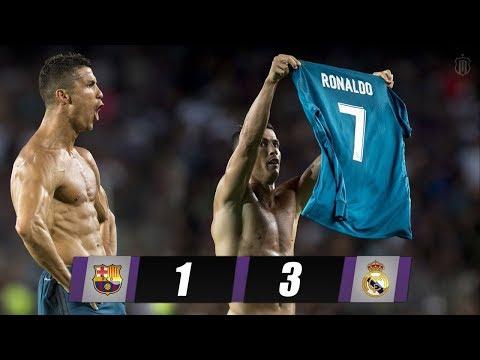 Barcelona VS Real Madrid | 13/Aug/2017 | SPANISH SUPERCOPA