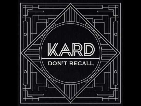 K.A.R.D (카드) - Don't Recall (Audio) [K.A.R.D Project Vol.2 'Don't Recall']