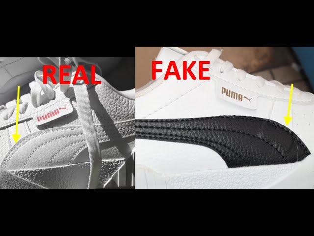 Puma Cali Real vs Fake. How to spot