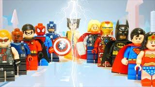 Lego Superhero Avengers Infinity War Marvel Vs DC