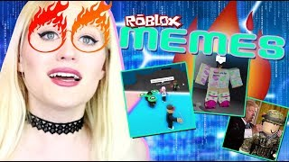 How to be LIT 🔥 in ROBLOX! Reacting to ROBLOX MEMES