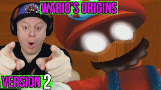 MARIO REFUSES TO GIVE UP   FIVE NIGHTS AT WARIO'S ORIGINS V2.0  1988 MAX MODE CUSTOM NIGHT COMPLETE