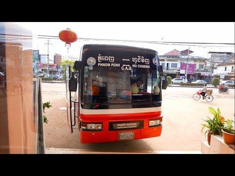 Mekong Express Bus - Phnom Penh - Siem Reap