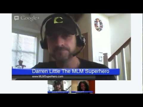 Hang out with Jenn- LIVE MAKE MONEY BLOGGING MASTERMIND w/Darren Little (The MLM Super Hero)