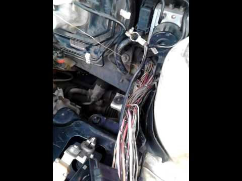 Mazda 3, Burnt Cable D/T bad HID Head Light Ballast, caused