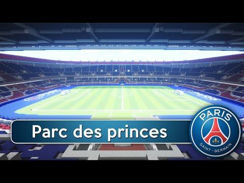 Minecraft - MEGABUILD - Parc des Princes (PSG) + DOWNLOAD [Official]