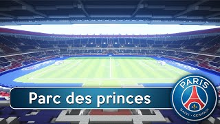 Minecraft - MEGABUILD - Parc des Princes (PSG) + DOWNLOAD [Official]