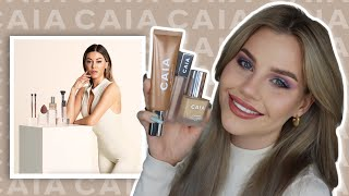 TESTAR CAIAS NYA FOUNDATION & CONCEALER!!
