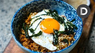 How to make... Kimchi Fried Rice!
