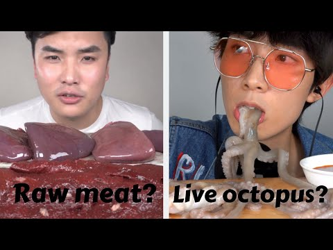 The Most Disgusting ASMR Foods Compilation