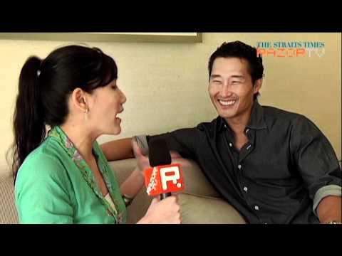 Daniel Dae Kim flashes his sexy secret H5O's Daniel Dae Kim Pt 1