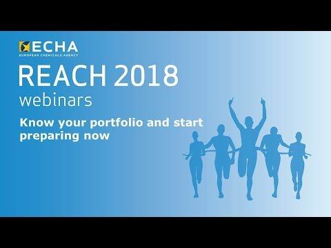 REACH 2018: Know your portfolio and start preparing now