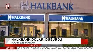 Halkbank doları düşürdü