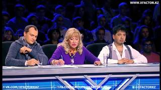 Самые Прикольные выступление на X FactorKz3