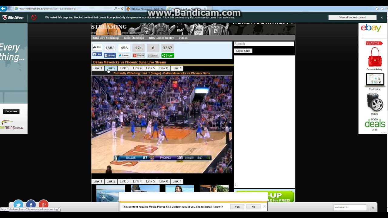 how to watch nba on internet free