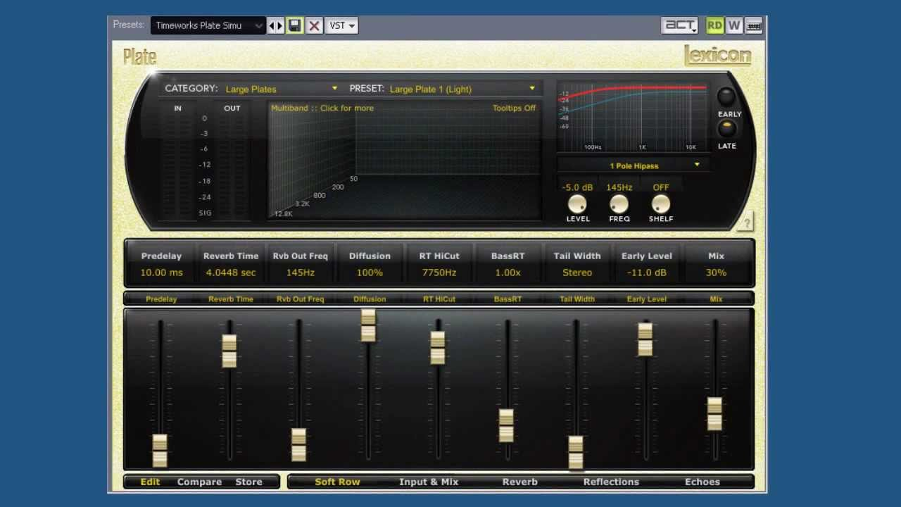 Lexicon Reverb Bundle VST Free Download