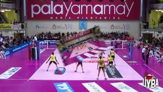 08/11/15 Highlights Unendo Yamamay Busto Arsizio vs Imoco Volley Conegliano