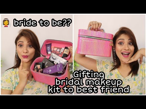 Gifting bridal Makeup