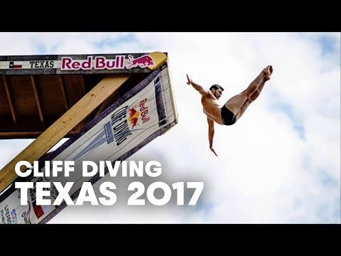 Winning Cliff Dives from Red Bull Cliff Diving World Series Texas 2017